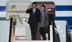 The President of the Popular Republic of China visits the Canary Islands